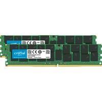 Crucial RAM-geheugen: 128GB (2 x 64GB) DDR4-2666 LRDIMM - Groen