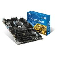 MSI moederbord: Z170A PC Mate