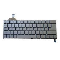 Acer notebook reserve-onderdeel: Keyboard (US/International), Silver - Zilver