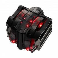 Cooler Master Hardware koeling: V8 Ver.2 - Zwart, Rood