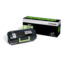 Lexmark cartridge: 522H - Zwart