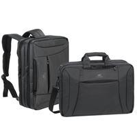 Rivacase laptoptas: 8290 - Zwart