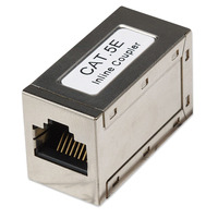 Intellinet kabel connector: RJ-45, Cat5e - Zilver