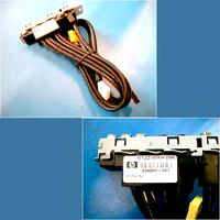 HP Front I/O panel cable assembly - Has three USB 2.0 ports, microphone and headphone jacks, and one IEEE 1394 port .....