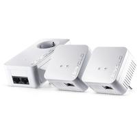Devolo powerline adapter: dLAN 550 WiFi Network Kit Powerline NL - Wit