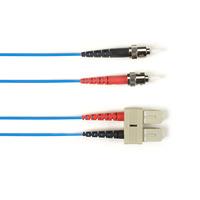 Black Box fiber optic kabel: ST-SC 3m