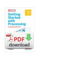 O'Reilly algemene utilitie: Getting Started with Processing - PDF formaat