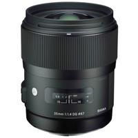 Sigma camera lens: 35mm F1.4 DG HSM - Zwart