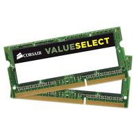 Corsair RAM-geheugen: 2x 4GB, DDR3L, 1600MHz - Groen