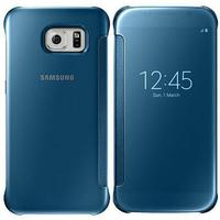 Samsung mobile phone case: Galaxy S6 Clear View Cover - blue - Blauw