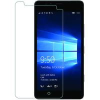 Azuri screen protector: screen protector Tempered Glass voor Microsoft Lumia 950 - Transparant