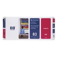HP printkop: 83 magenta DesignJet UV-printkop en printkopreiniger