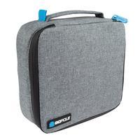 GoPole cameratas: Compact Case, 180x180x83mm, 227g, Black/Grey - Zwart, Grijs