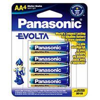 Panasonic batterij: Evolta AA - Blauw