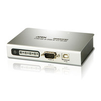 Aten hub: 4 port USB2.0-to-Serial HUB for RS-422/RS-485 - Zilver