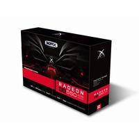 XFX videokaart: AMD Radeon RX 550, 4GB GDDR5, 128-bit, 4096 x 2160 - Zwart