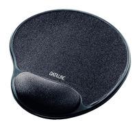 Esselte Mouse Pad, Wrist rest, Black, 450 g Muismat - Zwart