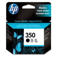 HP inktcartridge: 350 originele zwarte inktcartridge