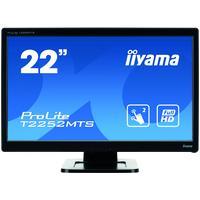 Iiyama touchscreen monitor: T2252MTS-3 - Zwart