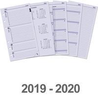 Kalpa schrijfblok: Standaard organiser-vulling week-agenda 2019 en 2020