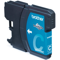 Brother inktcartridge: LC-1100CBP Blister Pack - Cyaan