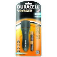 Duracell zaklantaarn: LED, 15lm, 30m, 2 x AA - Zwart