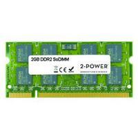 2-Power RAM-geheugen: 2GB DDR2 SoDIMM - Groen