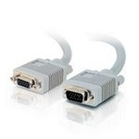 C2G 5m Monitor HD15 M/F cable