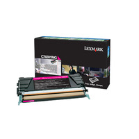 Lexmark toner: C748 Magenta High Yield Return Program Toner Cartridge
