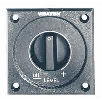 Visaton volumeregelaar: LC 57 - Zwart