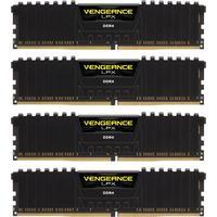 Corsair memory D4 3200 16GB C16 Corsair Ven K4 4x4GB Vengeance LPX black (CMK16GX4M4C3200C16)