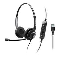 Sennheiser headset: SC 260 USB CTRL II - Zwart