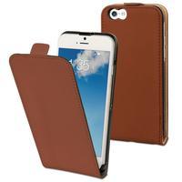 Muvit mobile phone case: Apple iPhone 6 & 6s Flip Case, Bruin & Sand