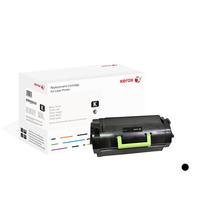Xerox toner: Zwarte toner cartridge. Gelijk aan Lexmark 52D2X00. Compatibel met Lexmark MS711, MS811, MS812