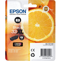 Epson inktcartridge: 33XL PHBK - Foto zwart