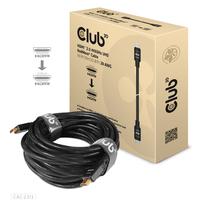 CLUB3D CAC-2313 HDMI kabel - Zwart