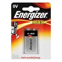 Energizer batterij: MAX Alkaline batterij 9V - Zwart, Zilver