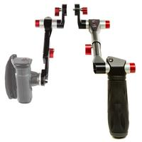 SHAPE camera-ophangaccessoire: Handles Kit, Aluminium/Black/Red - Aluminium, Zwart, Rood