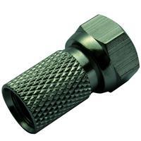 Schwaiger coaxconnector: FST8002 531 - Zilver