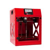 Builder 3D-printer: Premium, Small, Dual-Feed, USB, Wi-Fi, 24 kg - Rood