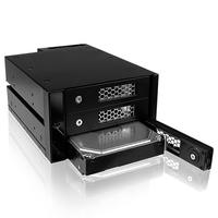ICY BOX SAN: IB-543SSK - Zwart
