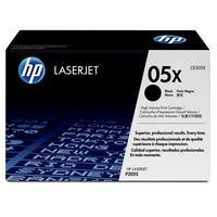 HP toner: 05X originele high-capacity voor o.a Color LaserJet Pro M452dn - Zwart