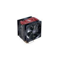 Cooler Master Hardware koeling: Hyper 212 LED Turbo - Zwart, Rood