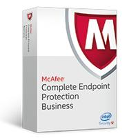 Mcafee software licentie: Complete Endpoint Protection Business