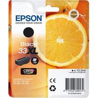 Epson inktcartridge: 33XL K - Zwart