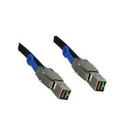 Microconnect 2m mini SAS Kabel - Zwart