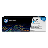 HP toner: 822A Cyan Original LaserJet Toner Cartridge, ~25000 pages - Cyaan