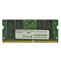 2-Power RAM-geheugen: 16GB DDR4 SoDIMM - Groen