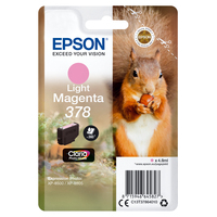 Epson inktcartridge: Singlepack Light Magenta 378 Claria Photo HD Ink - Lichtmagenta