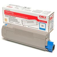 OKI cartridge: Tonercartridge voor C5800/C5900, Cyaan
